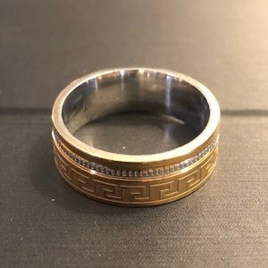 Accessories - Men's Stainless Steel Ring Size 10 or 7